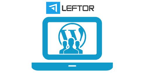 LEFTOR - Potreban WP Developer